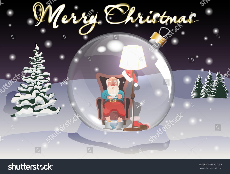 Santa Claus Christmas Tree Toy New Stock Vector HD (Royalty Free ...