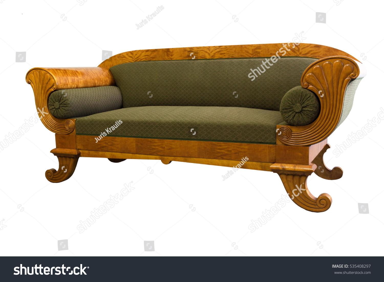 Recamiere biedermeier  Biedermeier Sofa Modern: Recamiere Biedermeier