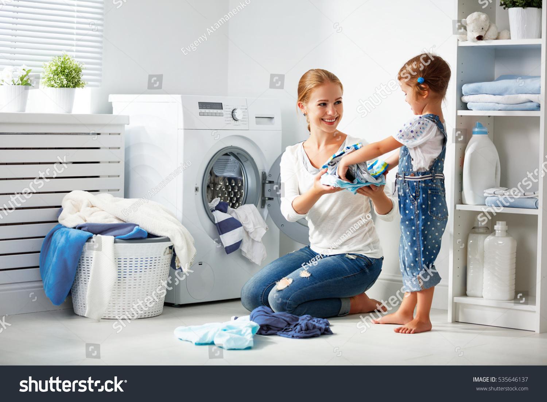 child laudry room