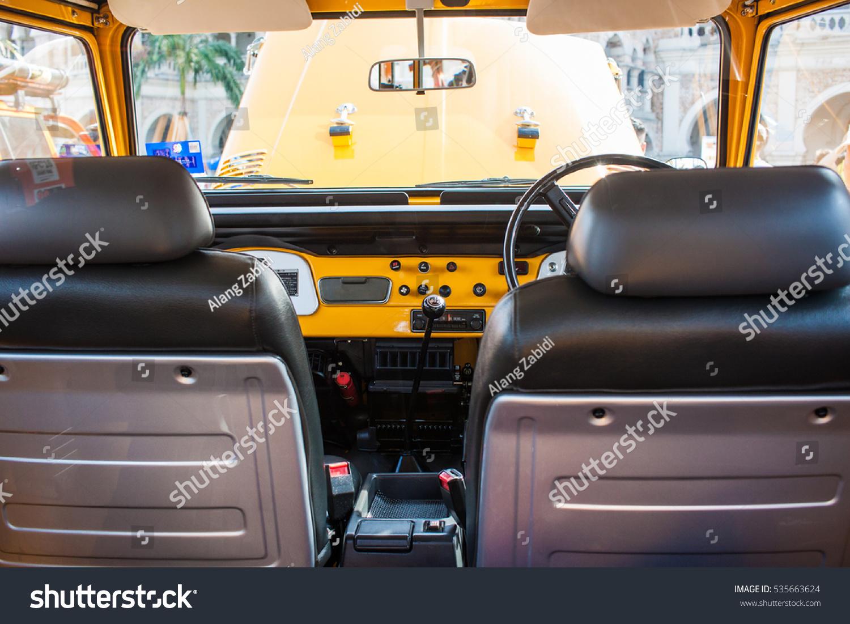 Kuala Lumpur Malaysia November 26th 2016 Stock Photo Edit Now Toyota Land Cruiser Interior Look