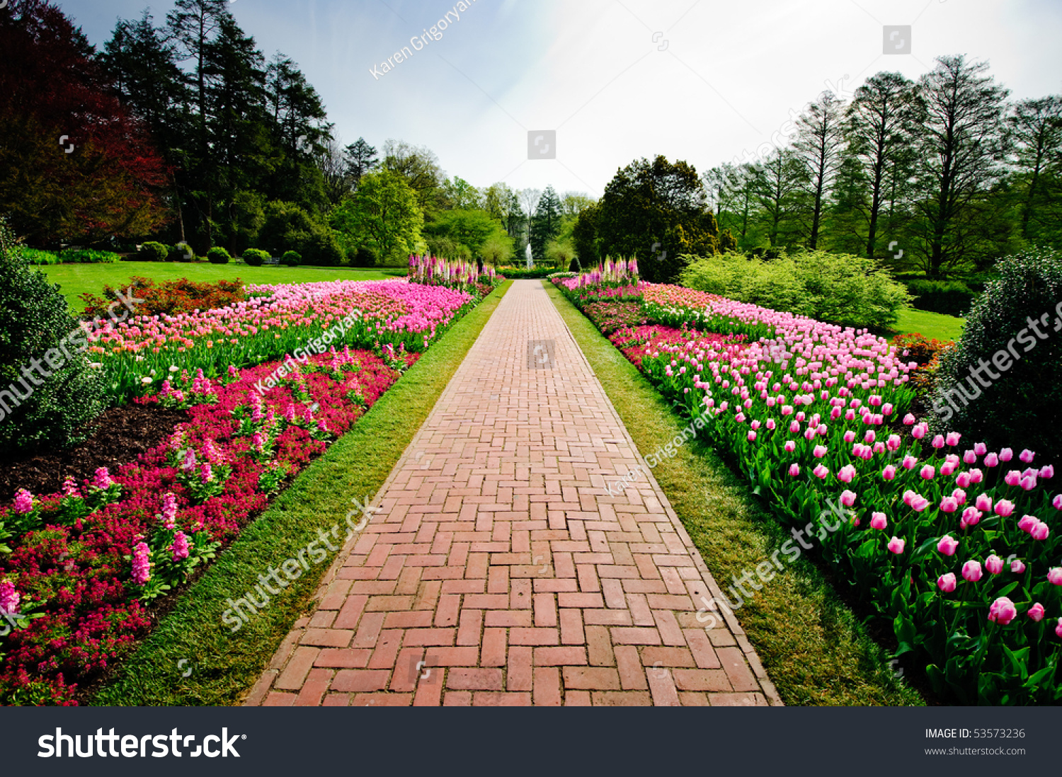 Longwood gardens stock photo 53573236 shutterstock for Landscaping longwood