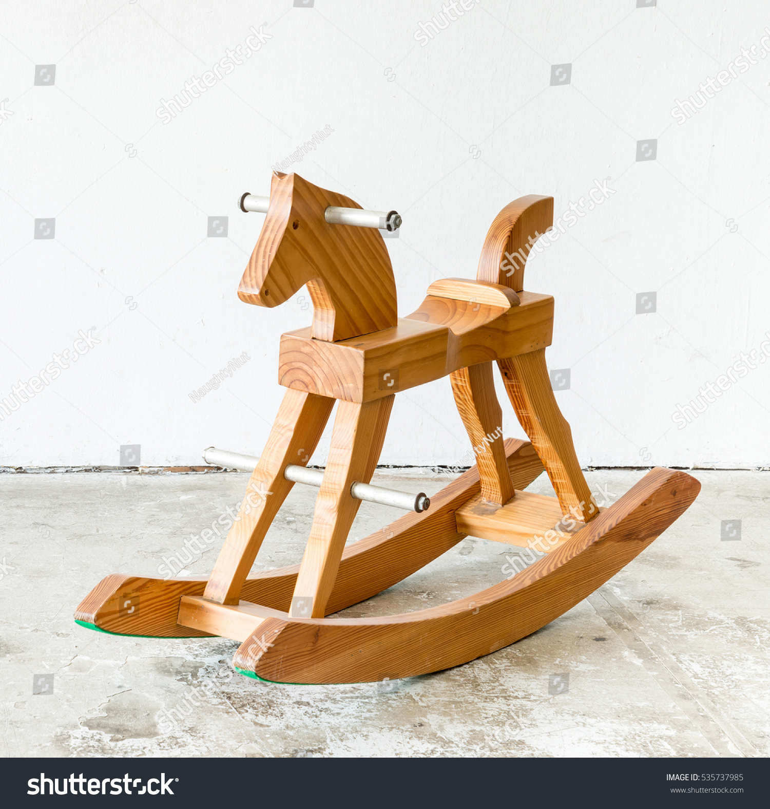 Cute vintage classic rocking horse chair children could enjoy the ...