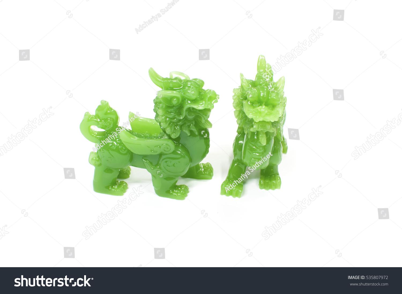 Jade green beast legends china chinese stock photo 535807972 jade green beast legends of china chinese lucky animal mascot buycottarizona Images