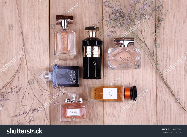 785ccf5cddc Ukraine December 3 2016 Perfumes Set Stock Photo (Edit Now ...