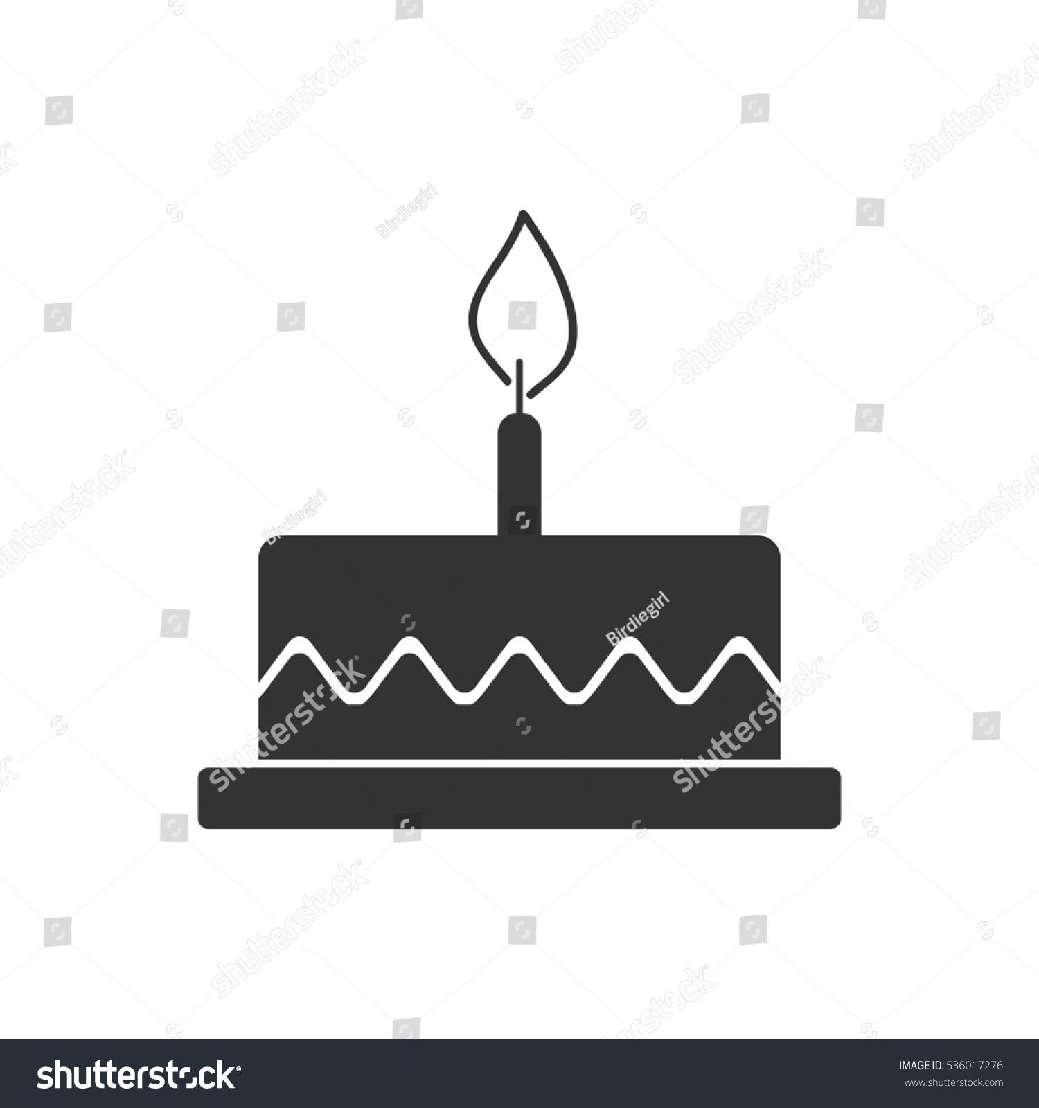 Birthday cake icon flat grey symbol stock illustration 536017276 birthday cake icon flat grey symbol illustration isolated on white background biocorpaavc