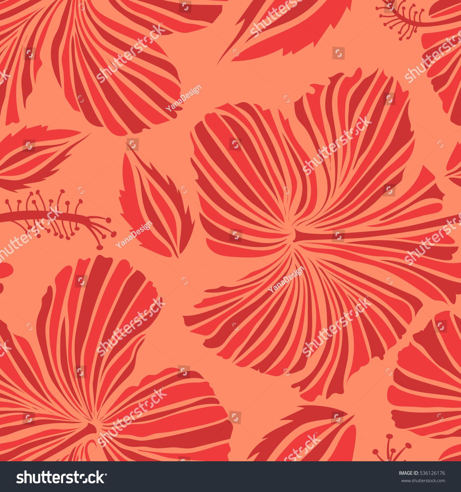 Design Orange Red Colors Invitation Wedding Stock Vector (Royalty ...