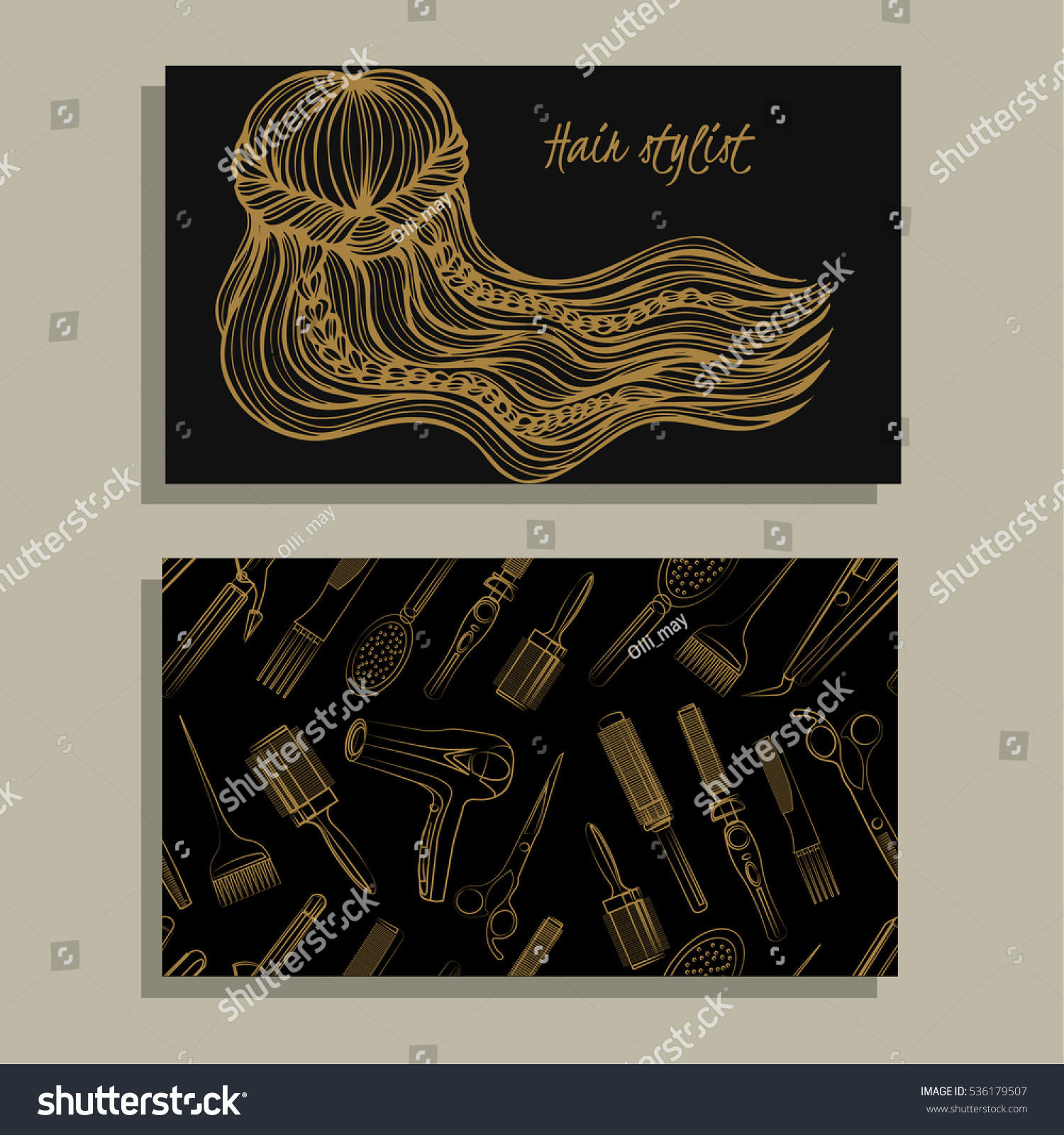 Business Cards For Hairstylist