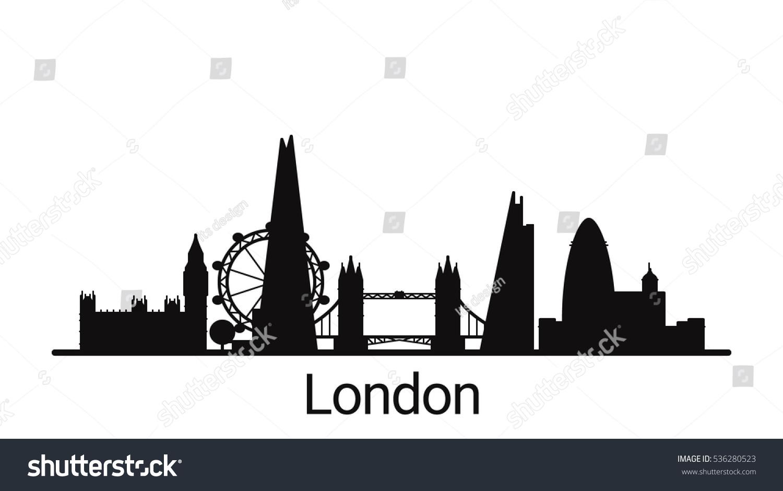 city skyline outline simple - photo #11