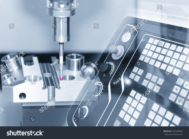 Abstract Scene Coordinate Measuring Machine CMM Stock Photo (Edit ...