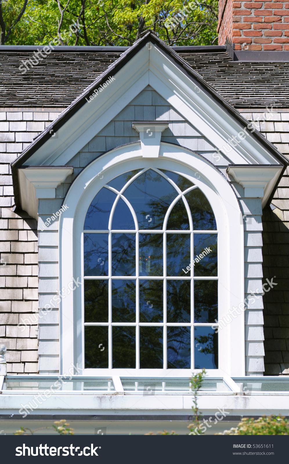 Elegant dormer window stock photo 53651611 shutterstock for Elegant windows