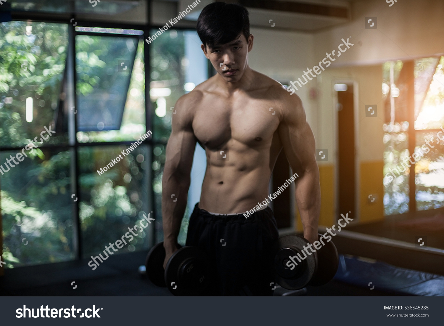 Asian body building game