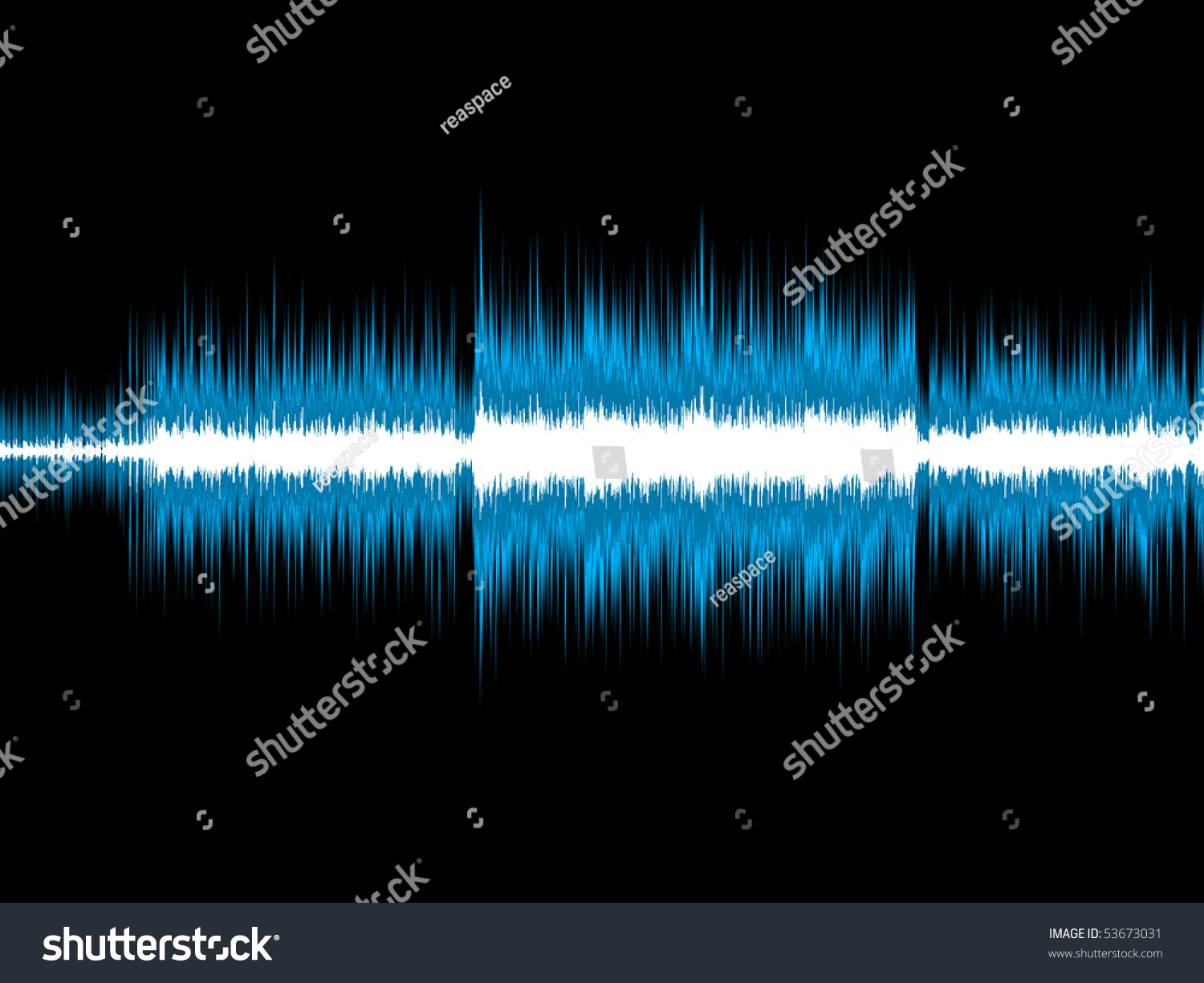 blue sound wave stock illustration 53673031 shutterstock