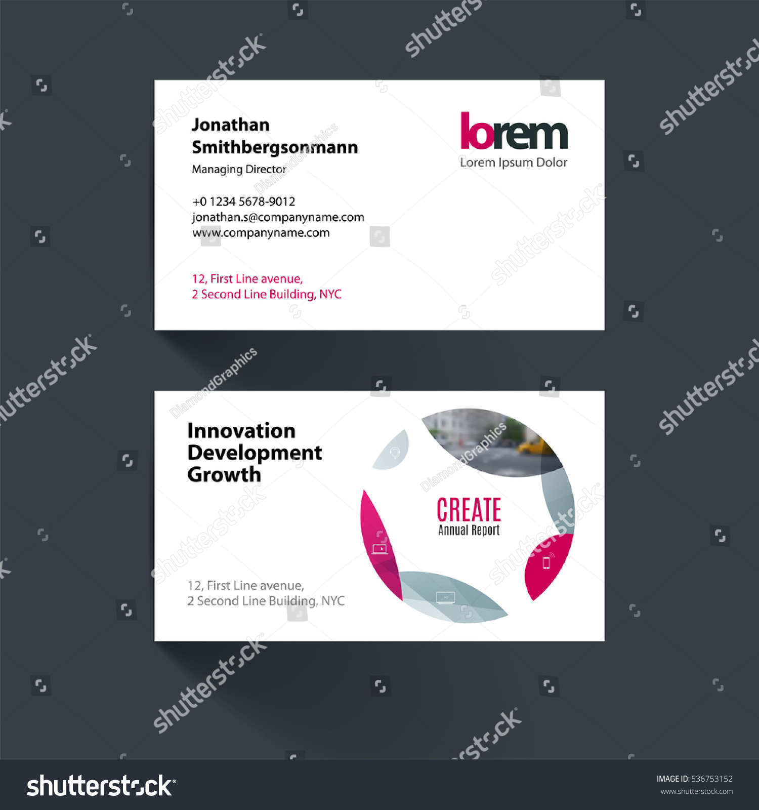 Luxury stock of round business cards business cards and resume circle business card magicingreecefo Image collections