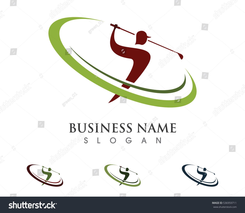 golf logo template stock vector 536959711 shutterstock