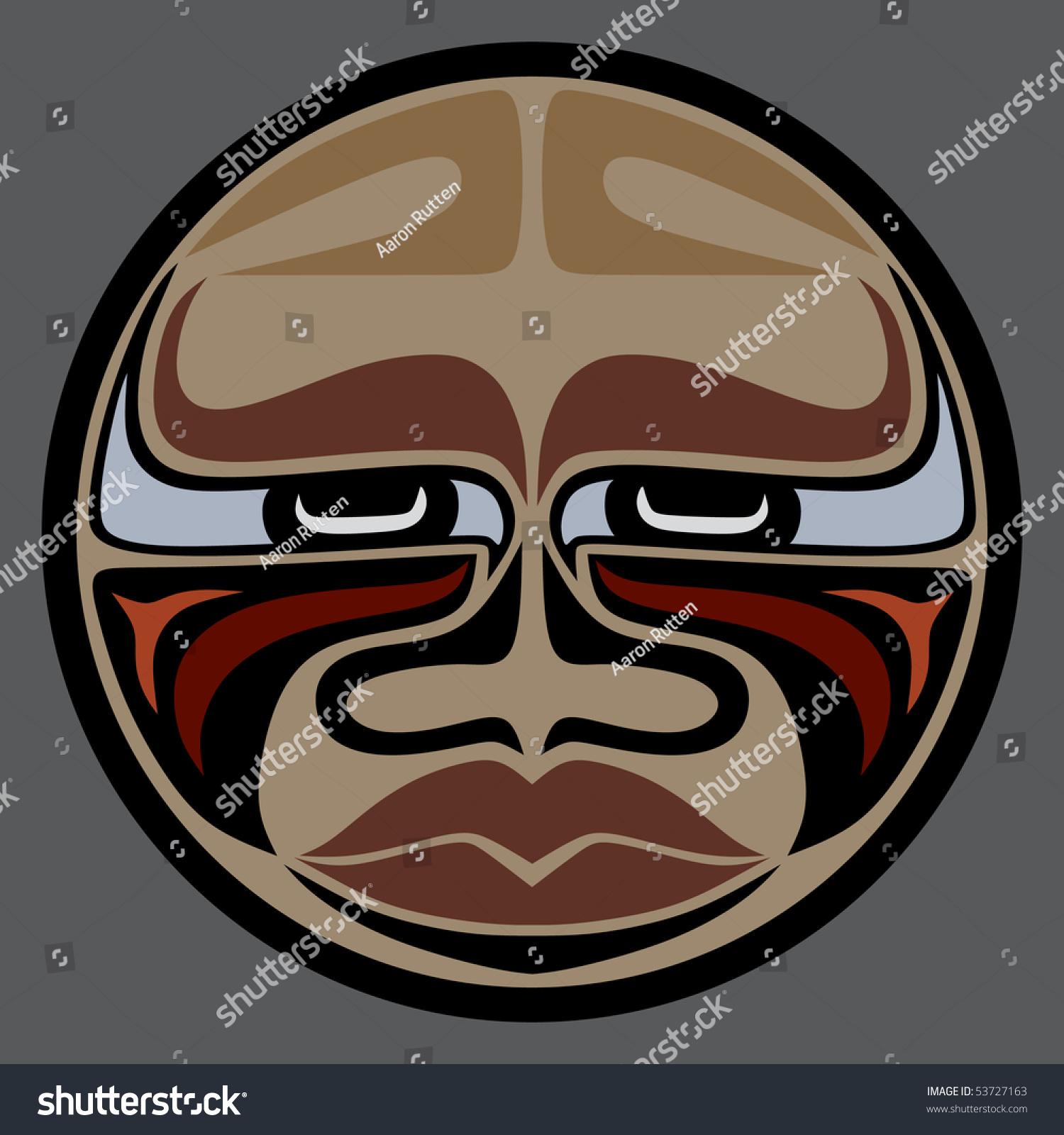 Stock Photo Buffalo Face