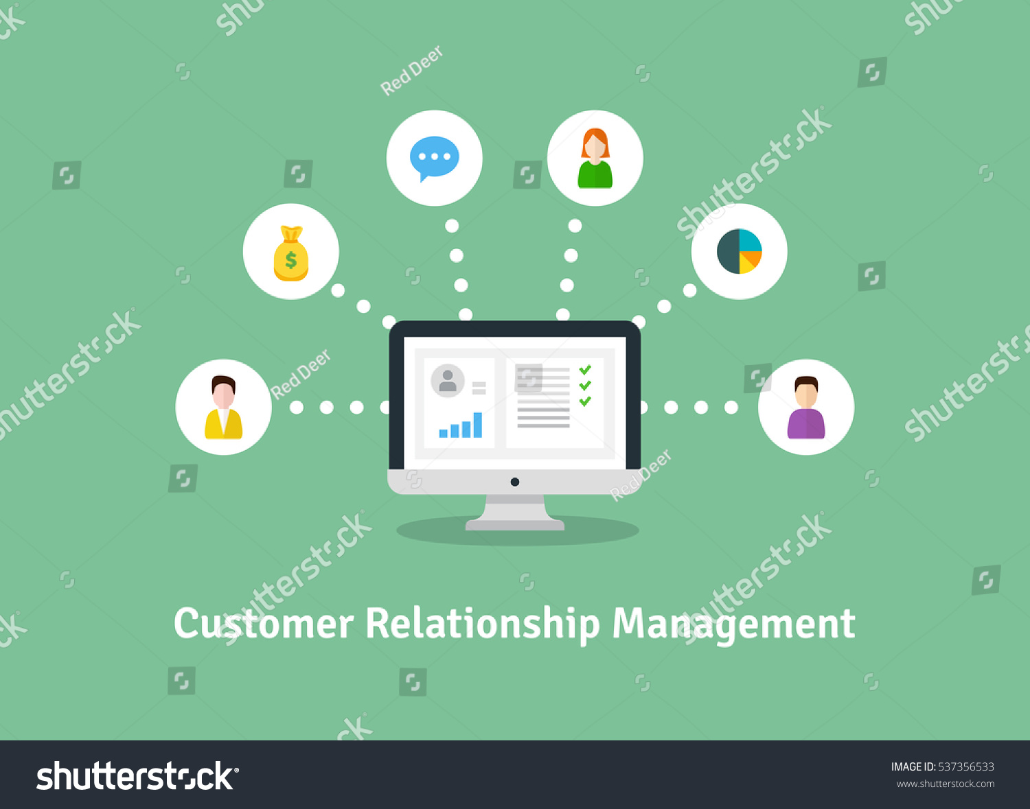 the gallery for gt customer relationship management banner