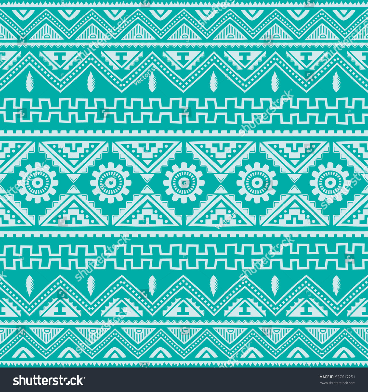 color native american ethnic pattern stock illustration 537617251
