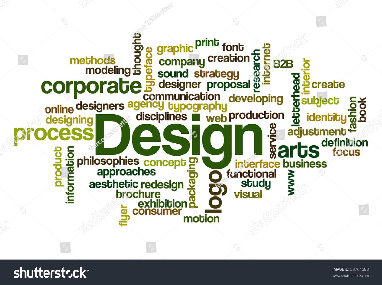 design word cloud stock vector 53764588 shutterstock