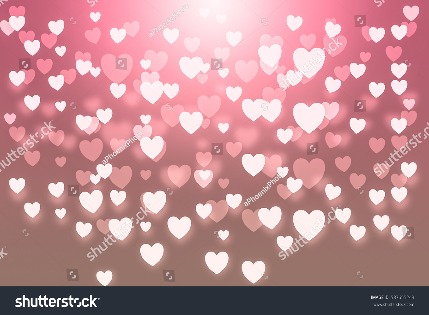 stock photo valentine background beautiful heart love card vintage wallpaper pink background 537655243
