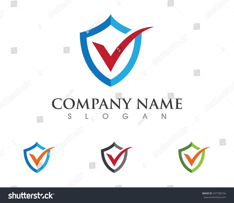 Shield Logo Template Stock Vector 537788194 - Shutterstock