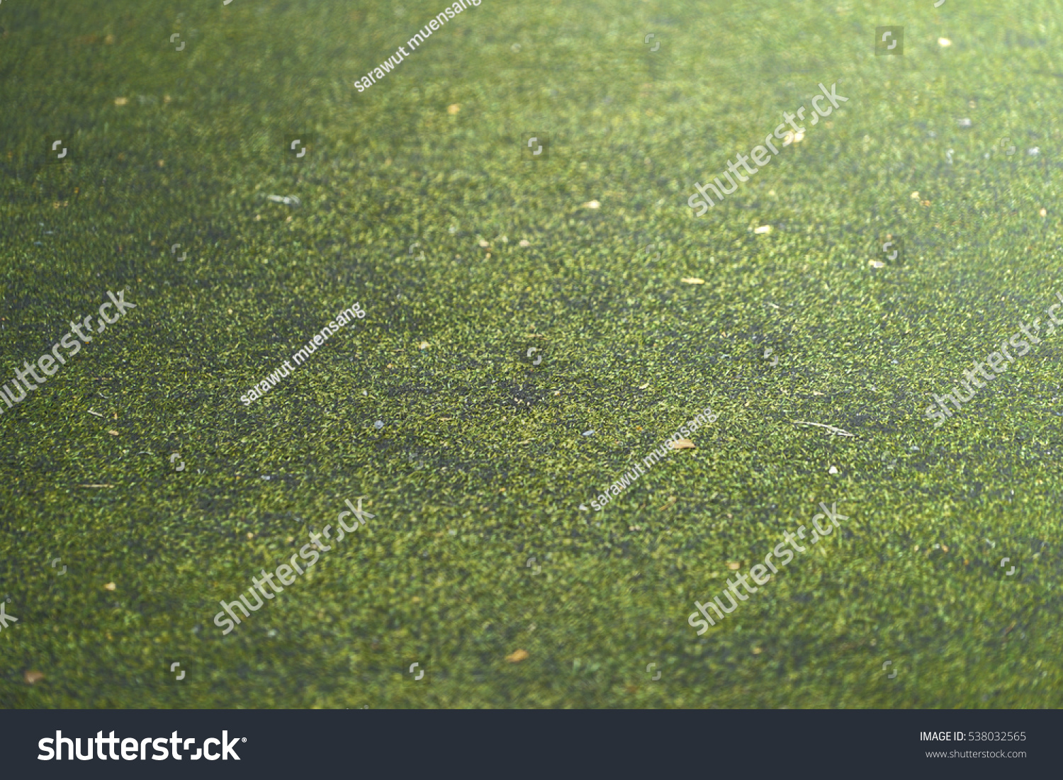 Artificial grass background.