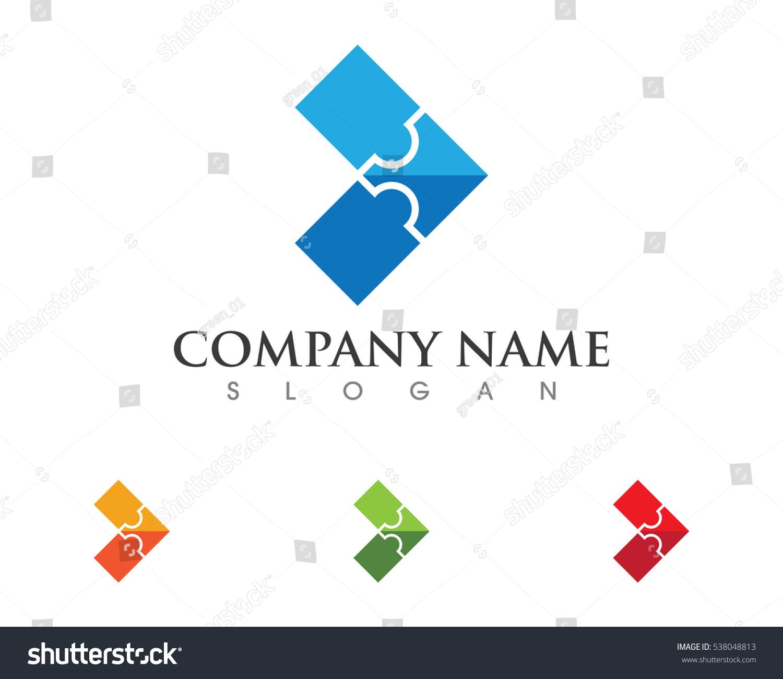 Arrow puzzle logo template stock vector 538048813 shutterstock arrow with puzzle logo template pronofoot35fo Choice Image