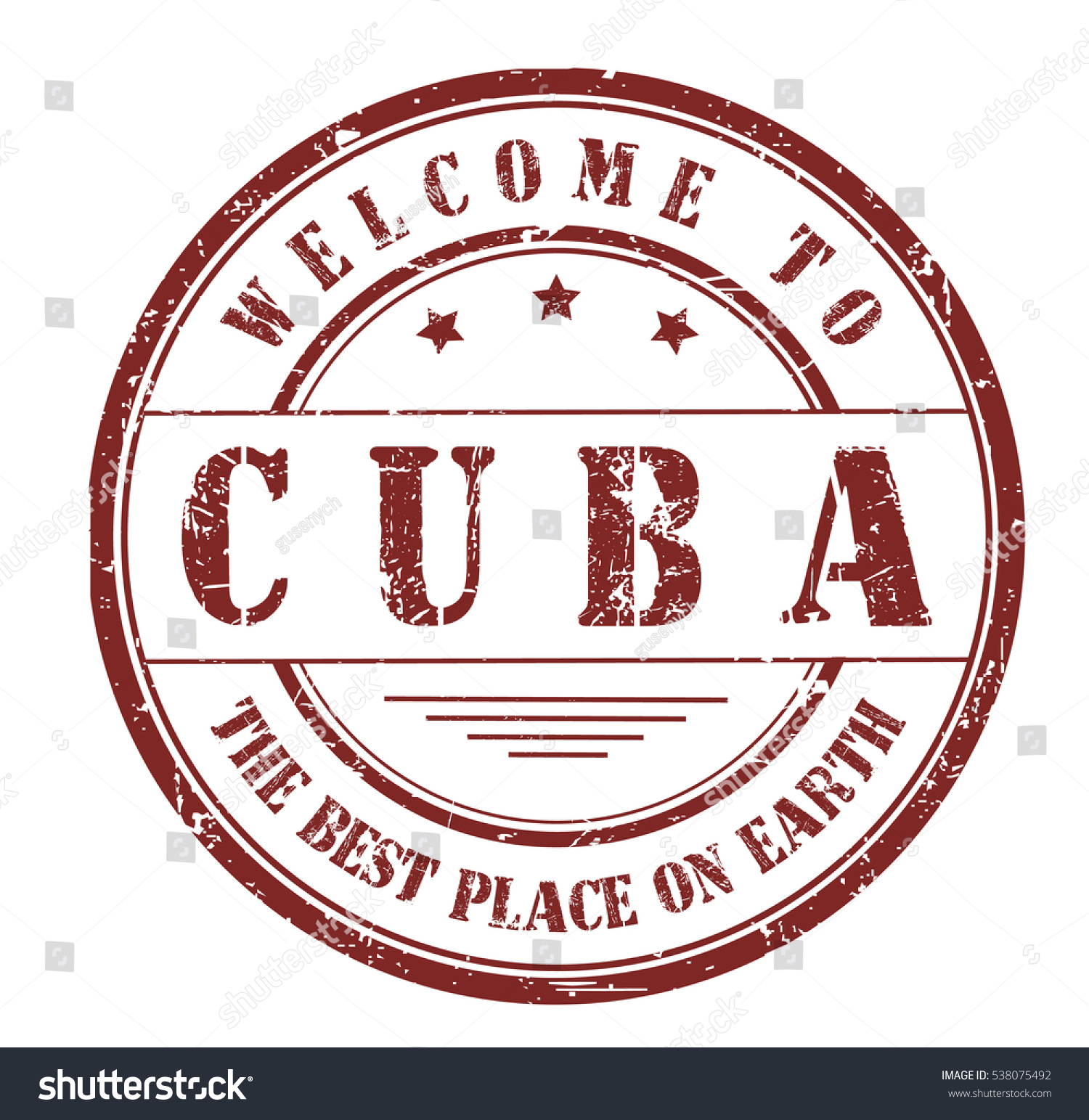 Rubber stamp text welcome cuba best stock vector 538075492 rubber stamp with text welcome to cuba the best place on earth on buycottarizona Gallery