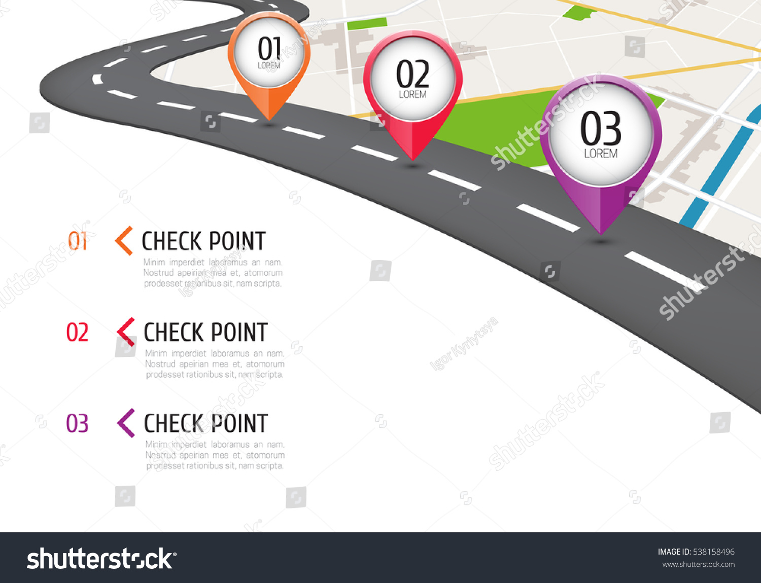 Location Position Icon Free Vector Graphic On Pixabay: Location Icons On Map Road Infographic Stock Vector