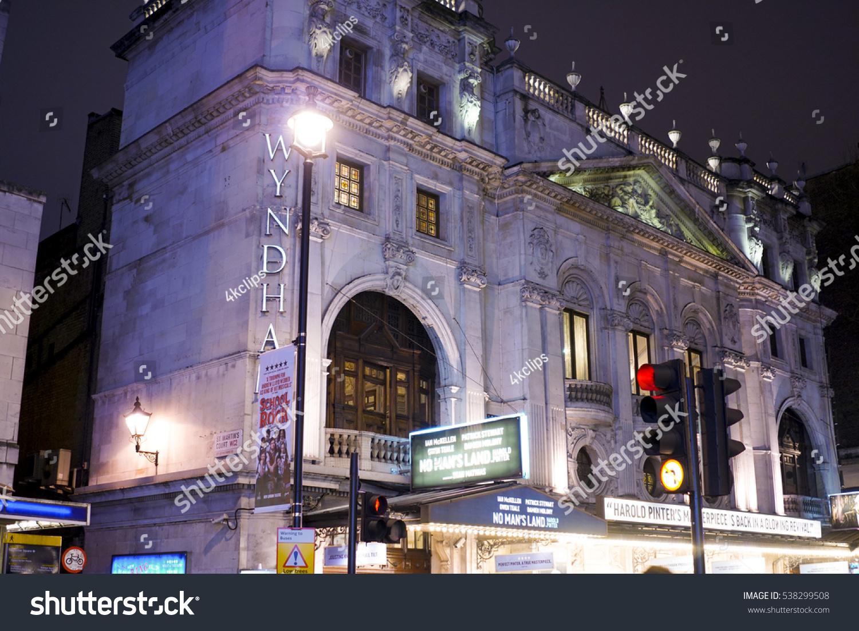 Wyndham s Theatre in London LONDON ENGLAND DECEMBER 12 2016