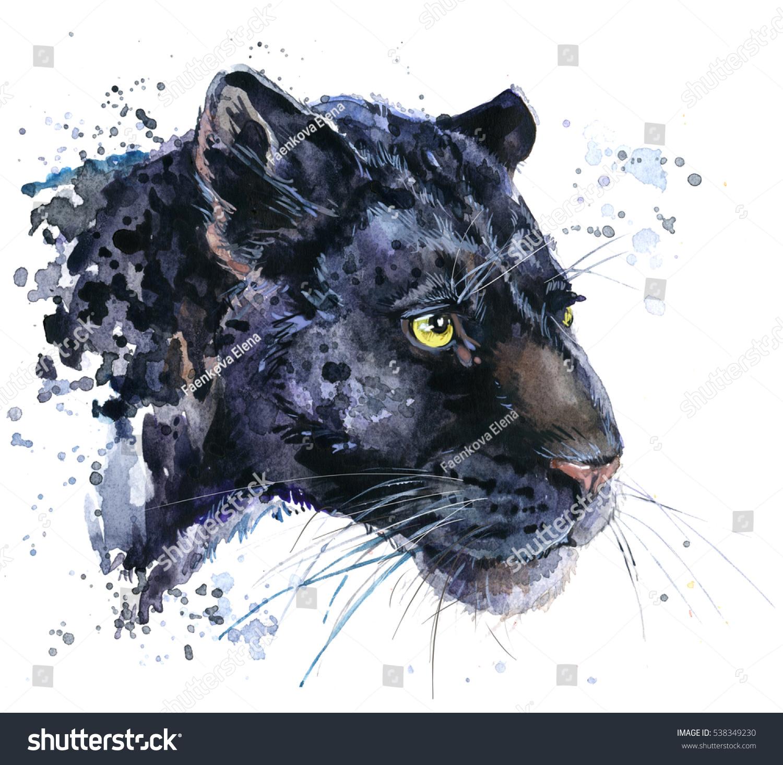 Black jaguar cat wallpaper