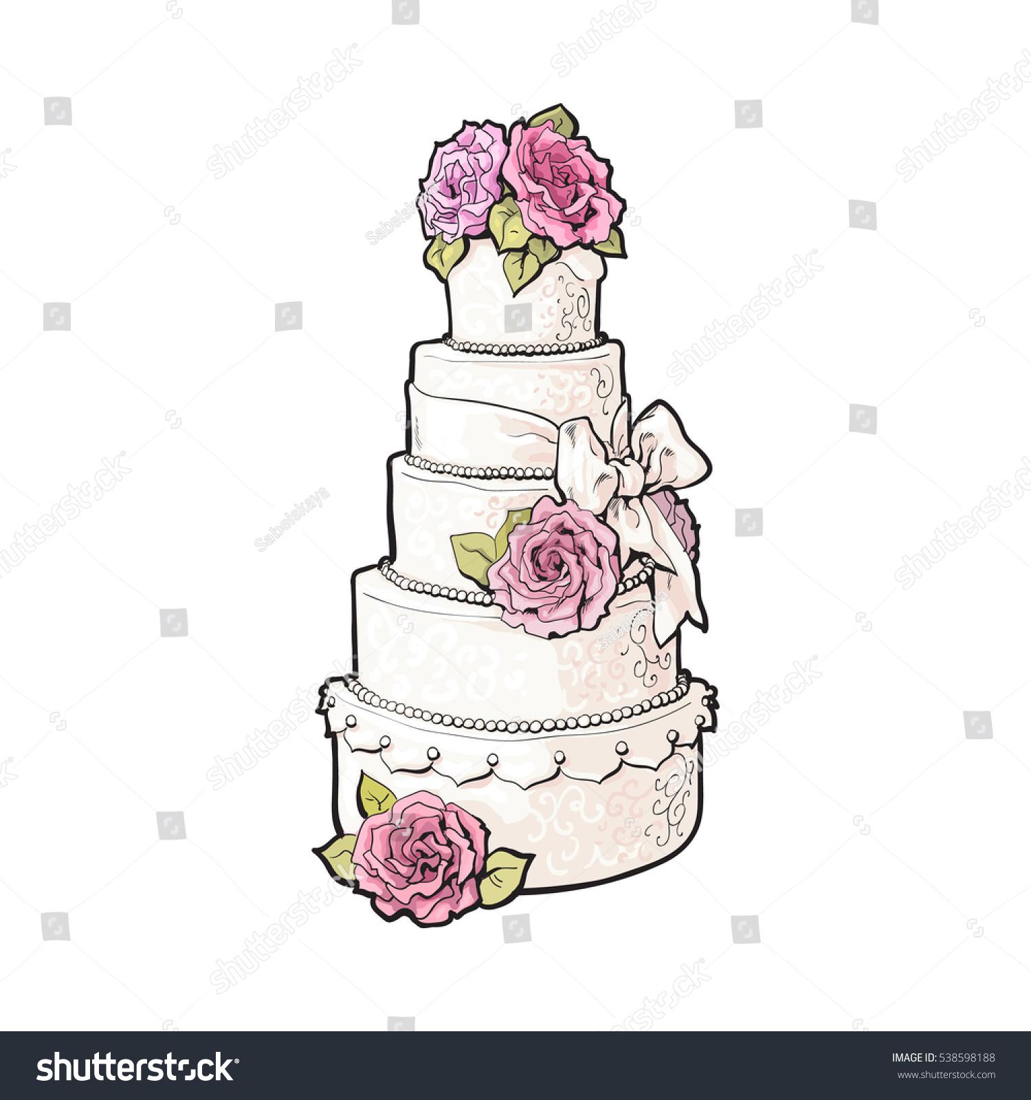 Wedding Cake Cartoon Pictures