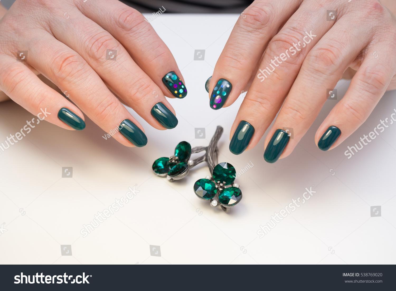 Natural Nails Gel Polish Perfect Clean Stock Photo & Image (Royalty ...