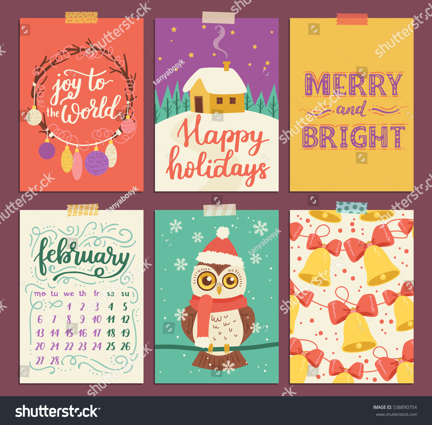 collection of christmas poster templates christmas set of collection of christmas poster templates christmas set of greeting cards bright colors cute