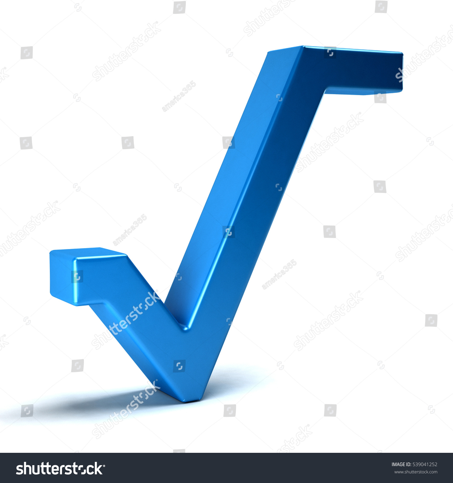 Royalty Free Stock Illustration Of Square Root Math Symbol 3 D