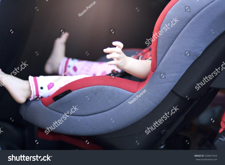 Baby Sit Safety Car Seat Stock Photo & Image (Royalty-Free ...