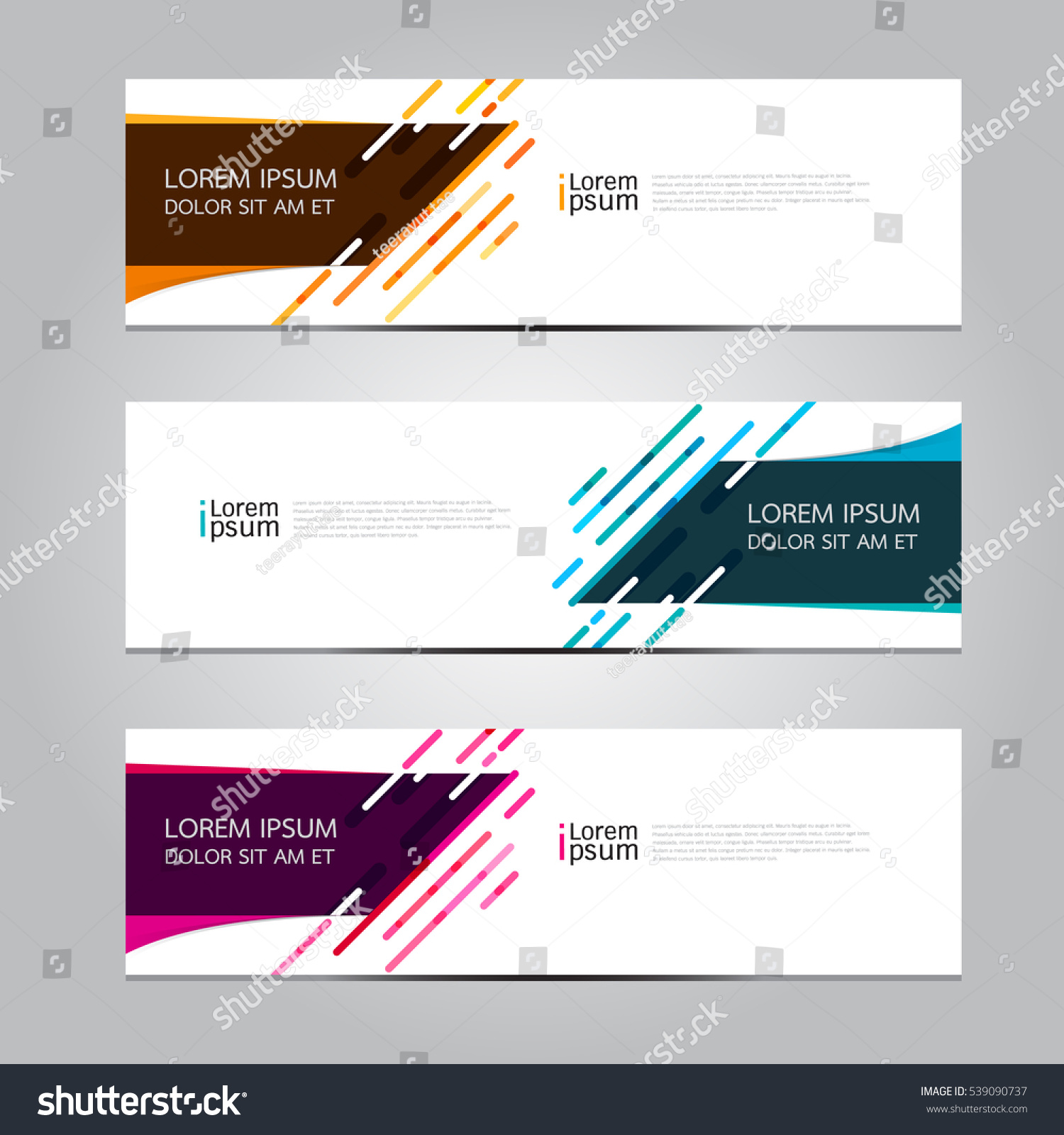 Vector design Banner background. #539090737