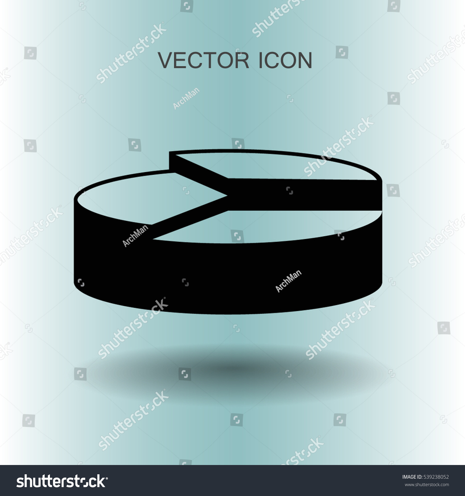 Diagram Visual Aid Vector Illustration Stock Vector 539238052 ...