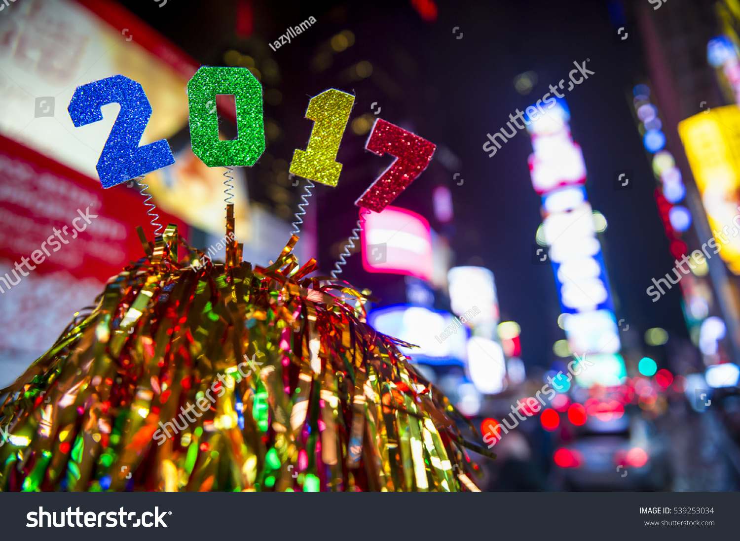 colorful new year decoration - photo #29