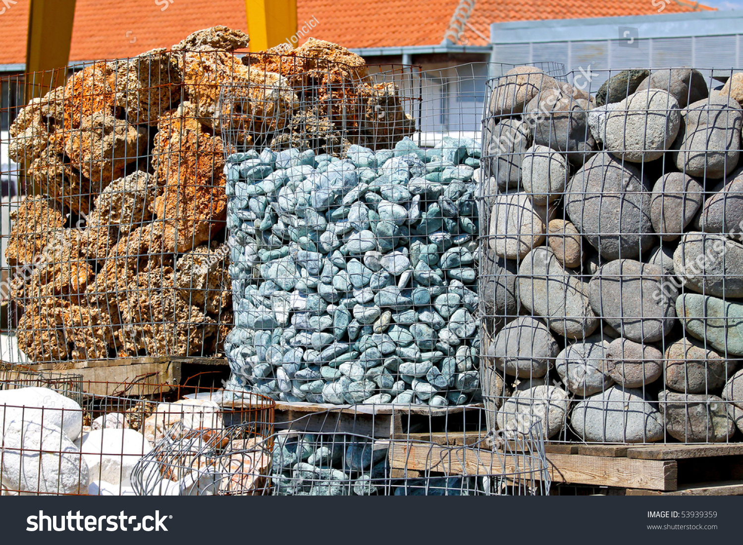Different Types Construction Stones Warehouse Stock Photo 53939359 ...