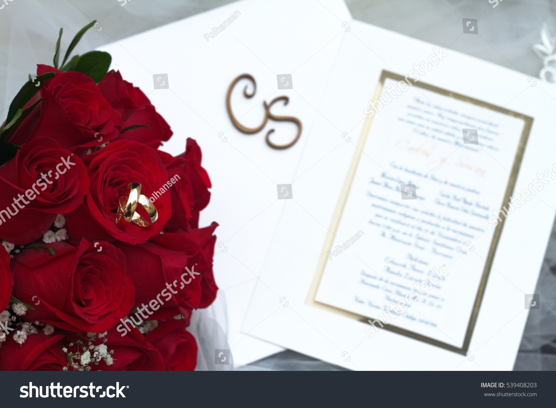 Wedding Rings Romance Stock Photo 539408203 - Shutterstock