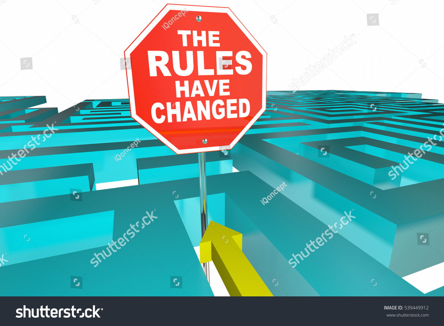 image The rules have changed