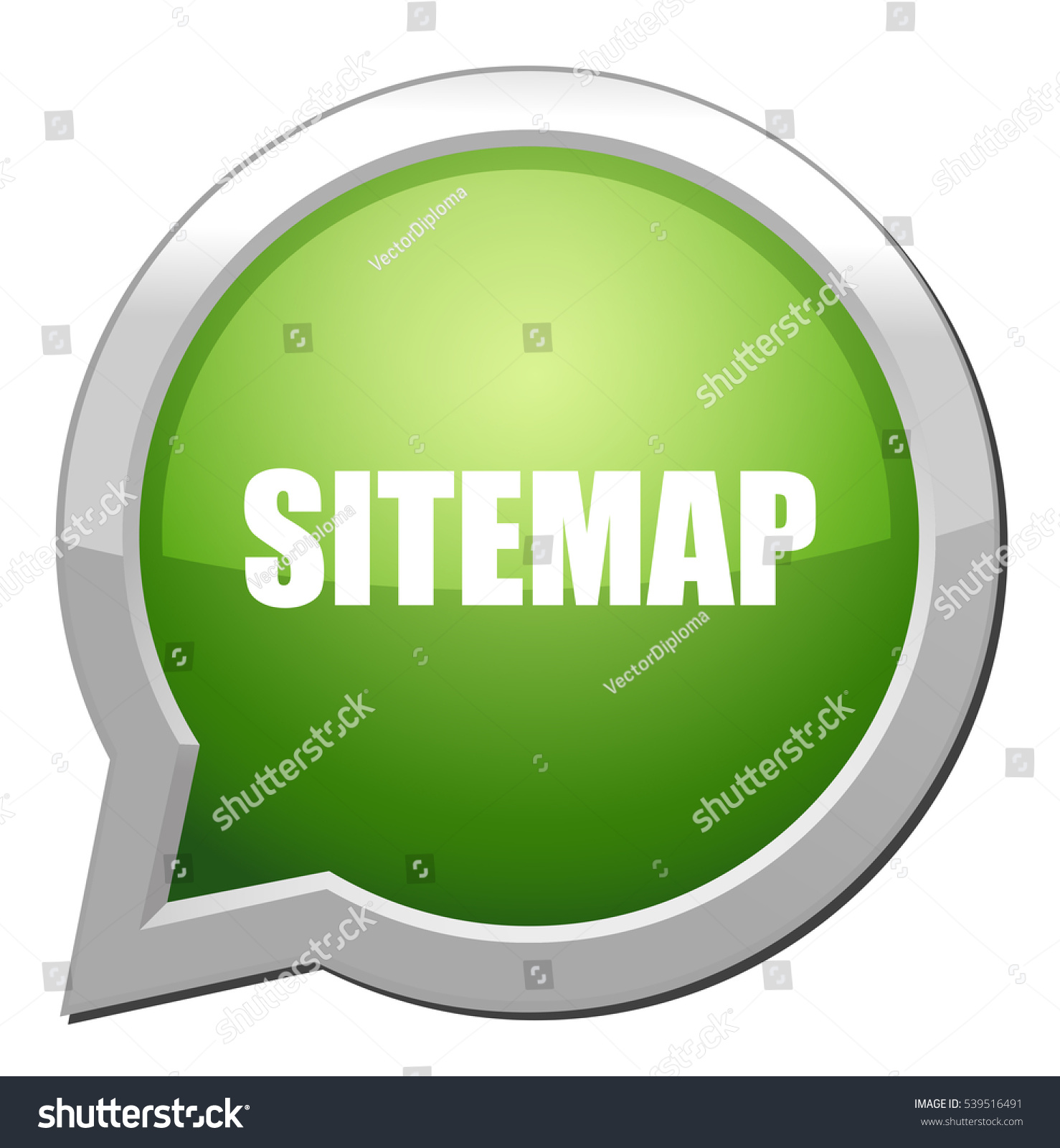 Sitemap: Sitemap Icon Stock Vector Illustration 539516491 : Shutterstock