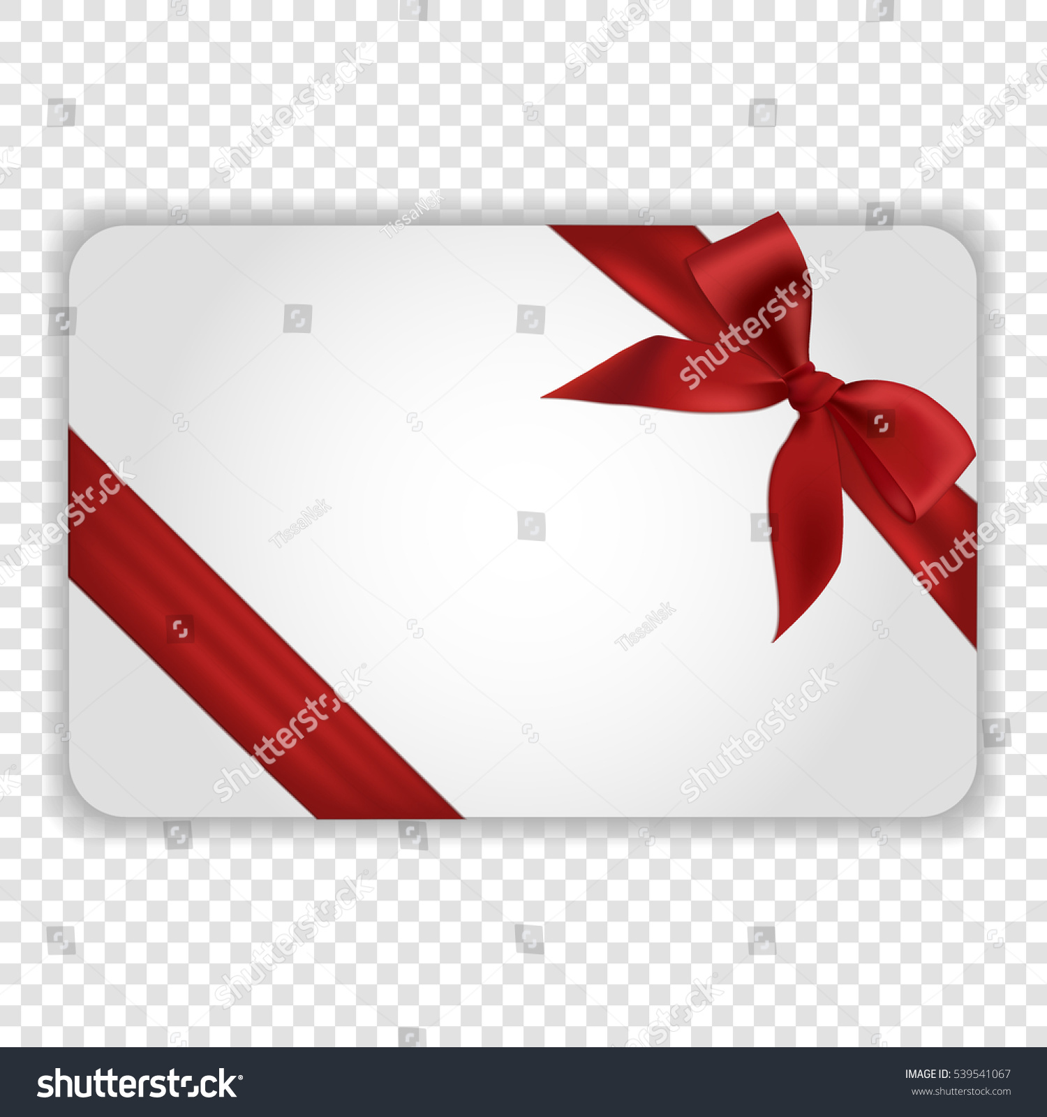Blank white gift card template red stock vector 539541067 blank white gift card template red stock vector 539541067 shutterstock pronofoot35fo Choice Image