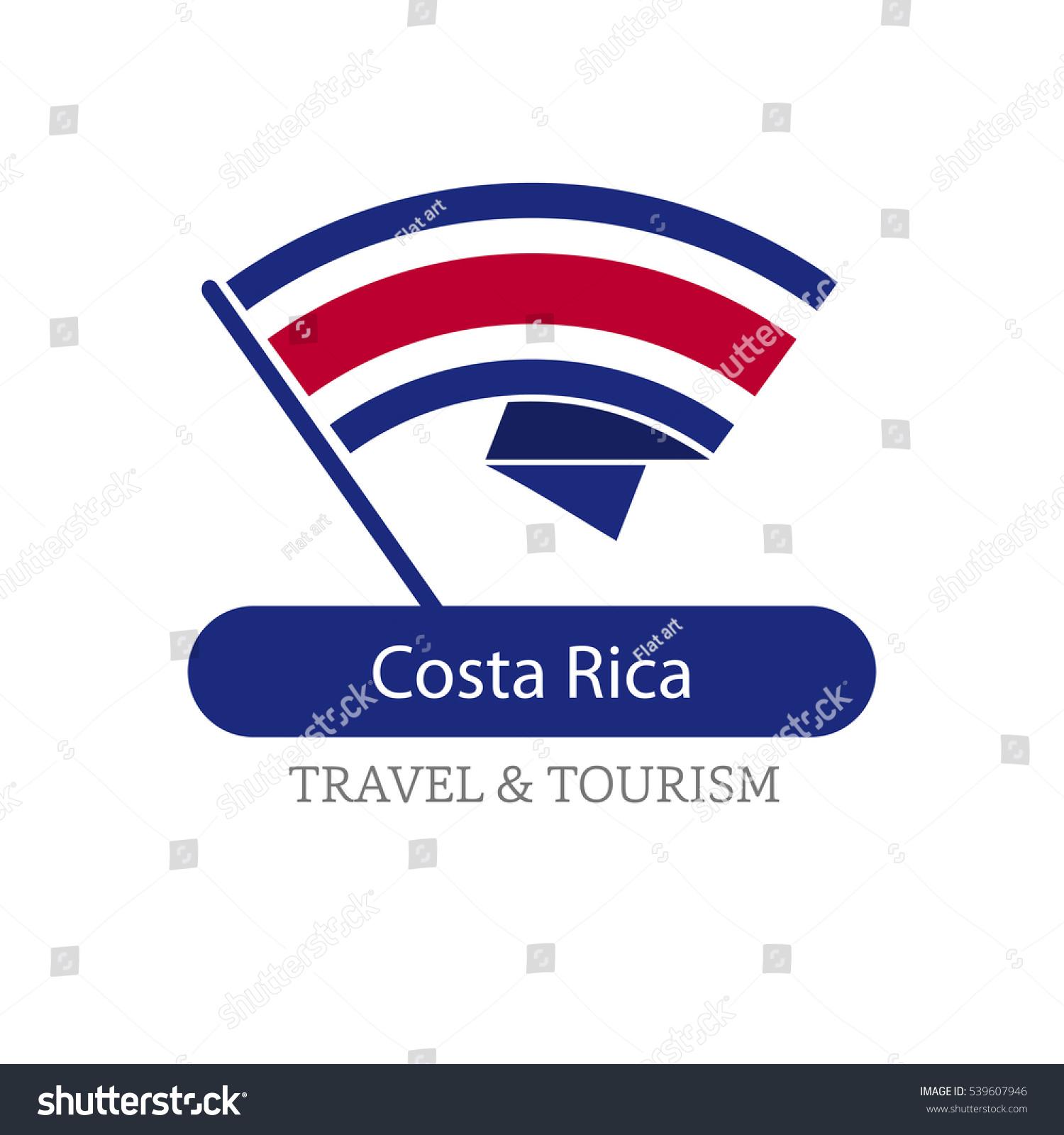 Costa rica travel destination logo vector stock vector 539607946 costa rica the travel destination logo vector travel company logo design country flag travel biocorpaavc Gallery