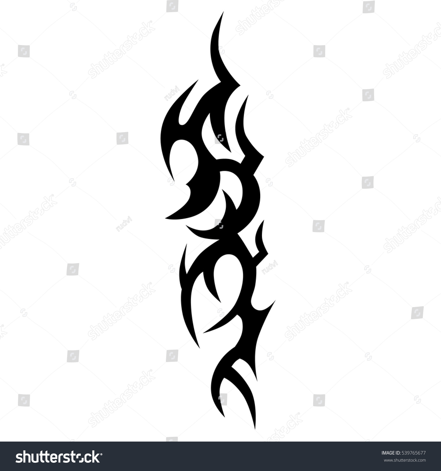 Tribal-Tattoos stock-vector-tattoo-tribal-vector-designs-tribal-tattoos-art-tribal-tattoo-vector-sketch-of-a-tattoo-539765677