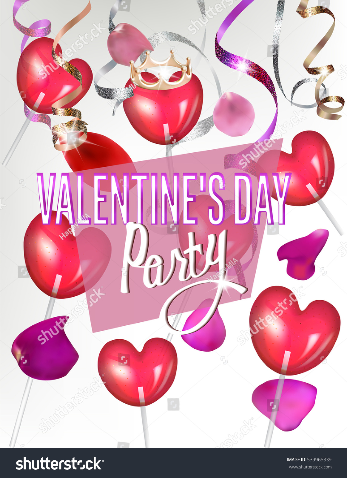 Valentines Day Party Invitations Image collections - Party ...