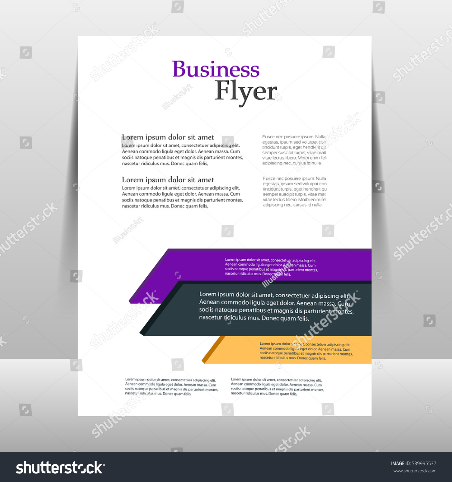 Brochure Booklet Flyer Or Book Cover Template Vector : Flyer design template vector brochure report stock