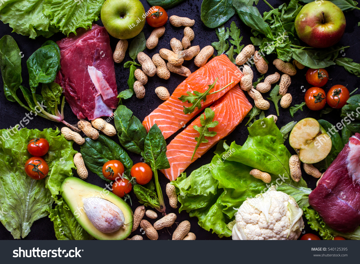 Online image photo editor shutterstock editor for Fish and veggie diet