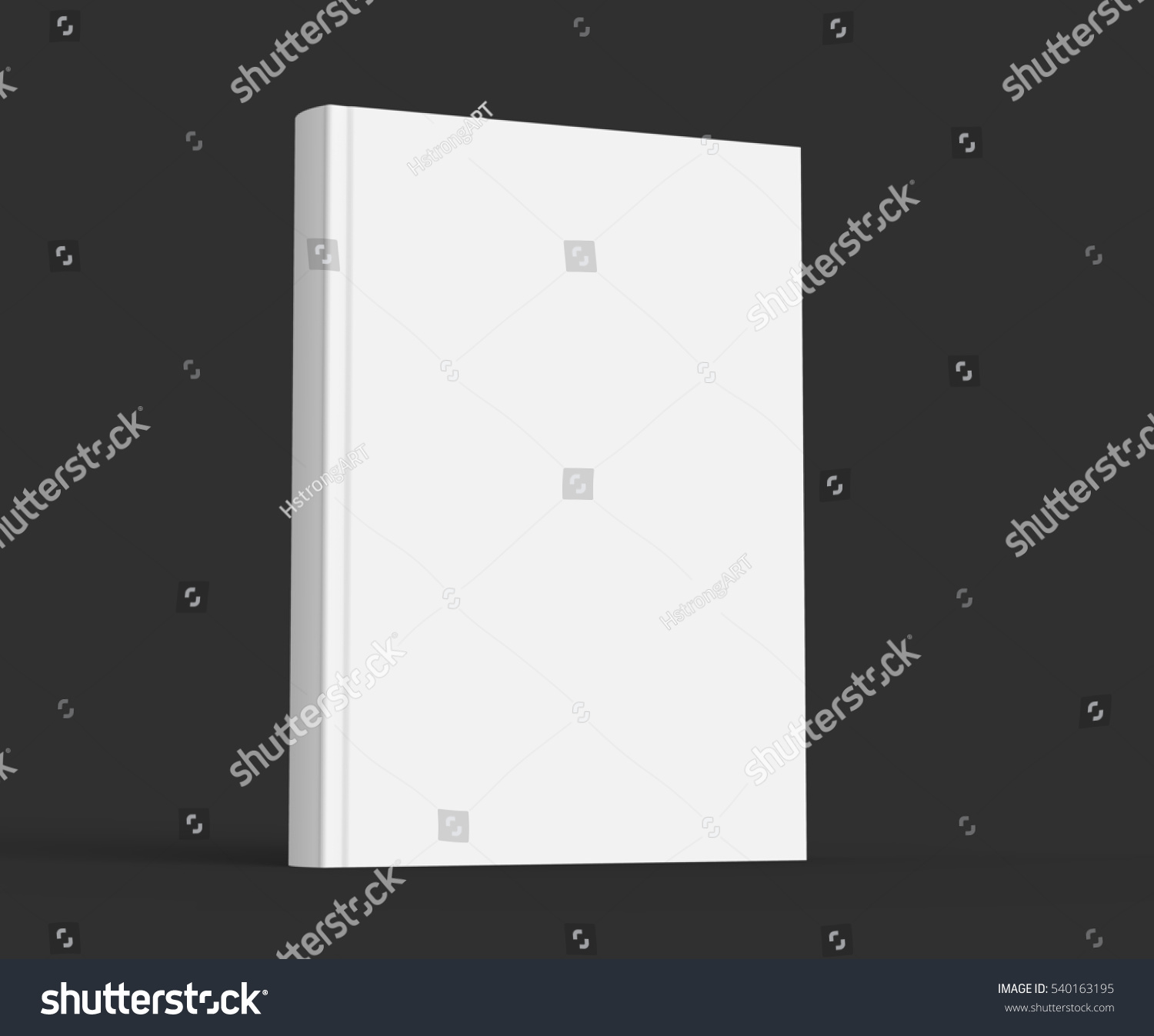 Blank Black Book Cover Template ~ Blank hard cover book template stock illustration
