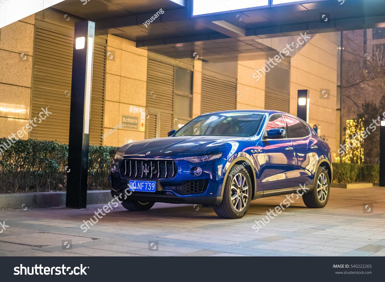 Beijing Dec 20 2016 Maserati Levante Stock Photo Edit Now 540222265
